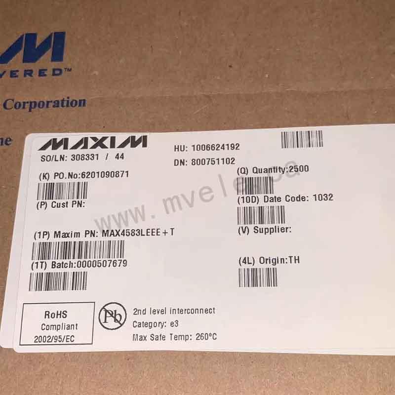 MAX4583LEEE+T