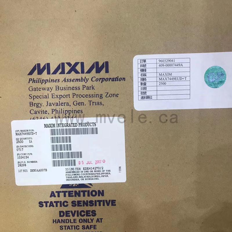 MAX7449EUD-T